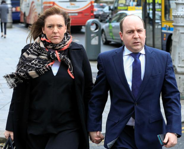 Parents Greville and Anne-Louise Miley had raised concern about their child Jude after he had to have surgery (Courtpix)