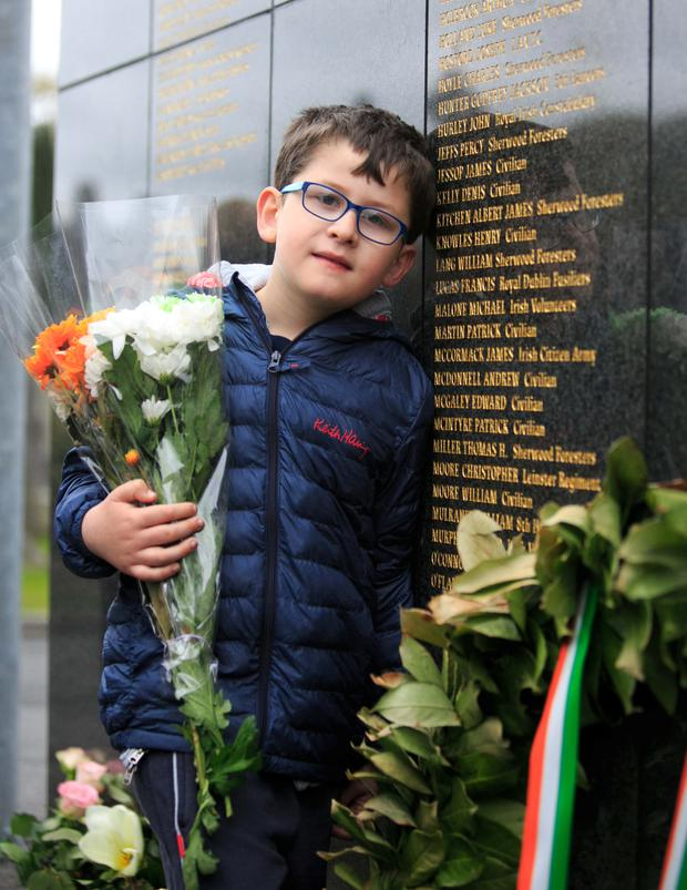 Hugh Moore (6) from Drumcondra at Glasnevin Cemetery