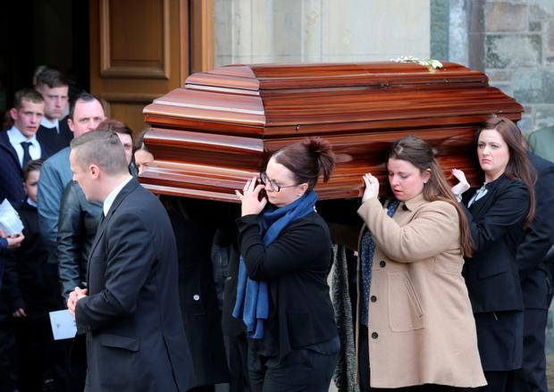Sister Clare's funeral