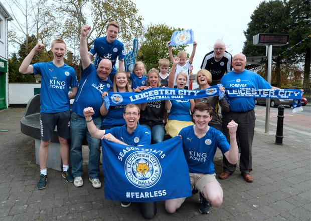 Leicester City's Irish fans in Co Meath (Caroline Quinn)