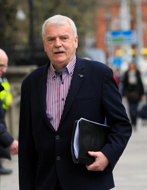 Finian McGrath, who signed up to support the Government, did not pay water charges. Photo: Collins Photo Agency