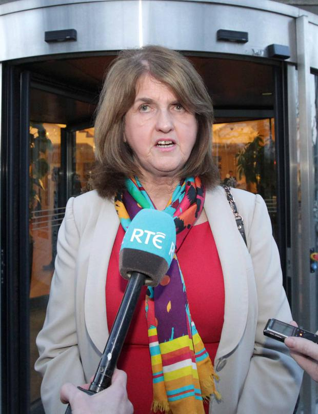 Joan Burton will speak to TDs and Senators at the meeting. Photo: Photocall Ireland