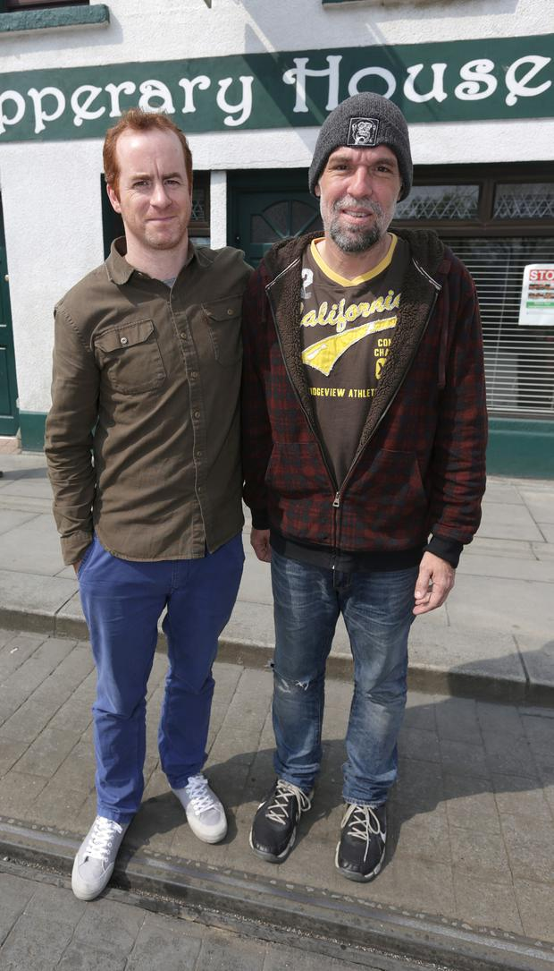 B&B boss Mark Mulvey and mugged tourist Donnie Brown