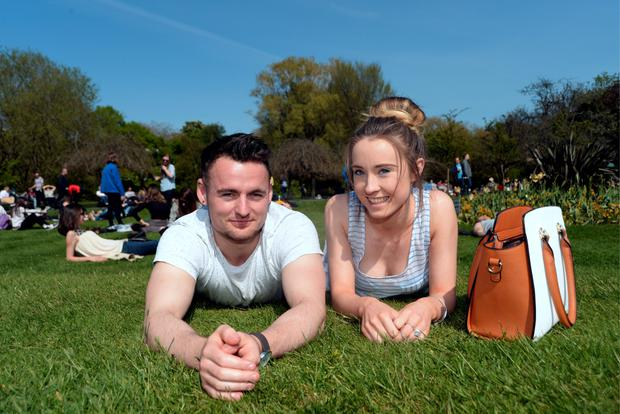 Dylan Croke, from Tallaght, and Sara OConnor, from Clondalkin