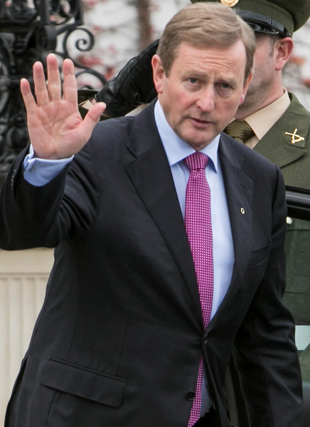 Taoiseach Enda Kenny said Irish politics had changed Photo: Kyran O'Brien