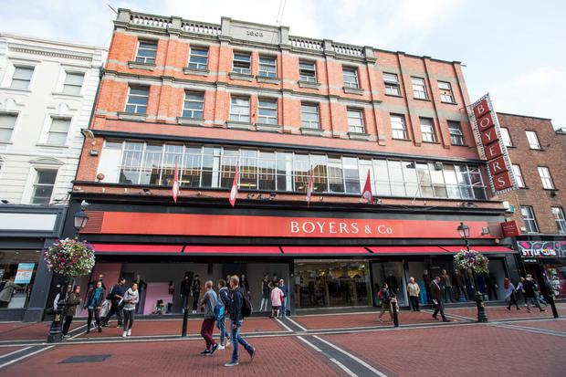 Boyers closed its doors in January with the loss of 83 direct or concession-based jobs