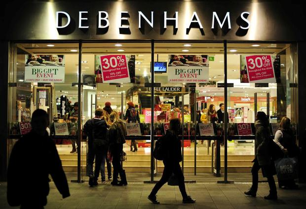 Debenhams in Dublin