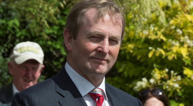 Taoiseach Enda Kenny (Picture: Mark Condren)