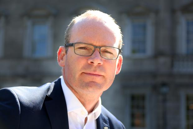 Minister Simon Coveney. Photo: Tom Burke
