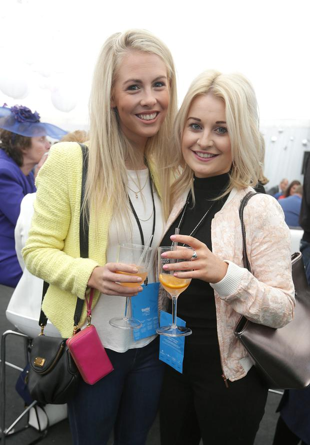 Sarah Doyle, right and Miriam Smyth from Donnybrook