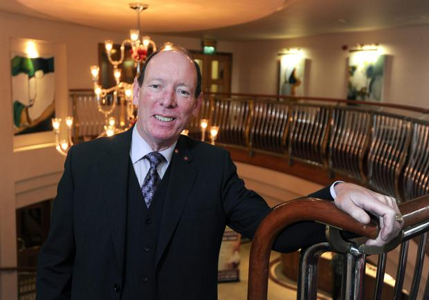 Tom Moran, owner of the Red Cow Hotel, is seriously ill in Spain