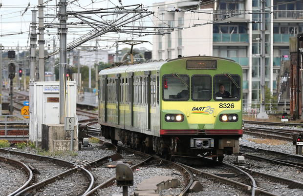 Dart passengers journeys are up by 7.5pc
