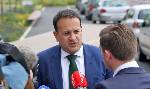 Leo Varadkar criticised Fianna Fail's anti-water policy Picture: Colin Keegan