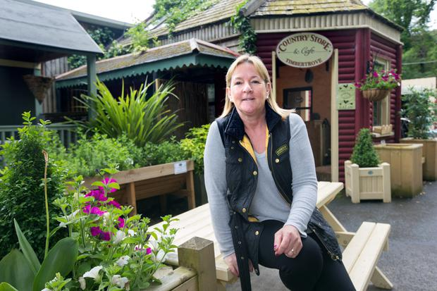 Shirley O'Kelly, manager of The Country Store and Cafe near the Hell Fire Club in Dublin