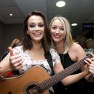 Shauna Morgan and Amy Kinane during auditions. Photo: Gareth Chaney Collins