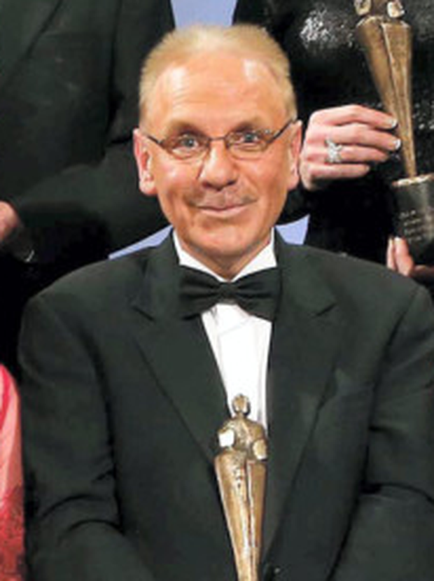 Console's Paul Kelly with his Everyday Hero Award in 2014