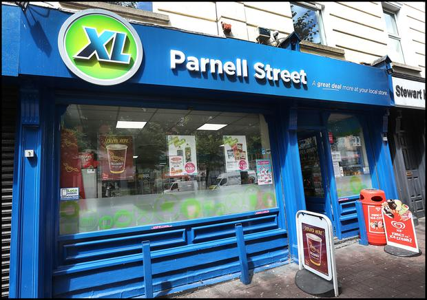 the XL shop on Parnell Street