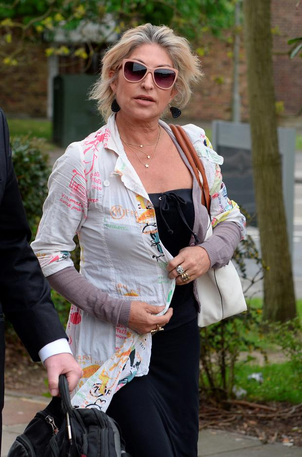 Matilde White is accused of repeatedly kicking her son Marco in the groin and biting her other son Luciano. Photo: PA