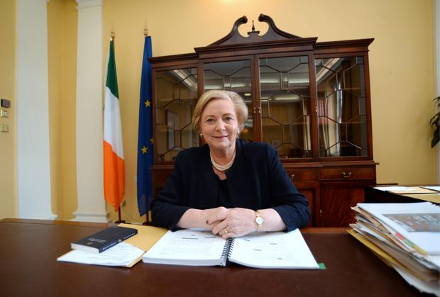Tánaiste and Minister for Justice and Equality Frances Fitzgerald