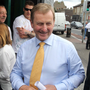 Taoiseach Enda Kenny and Minister Paschal Donohoe meet north inner city locals Picture: Collins