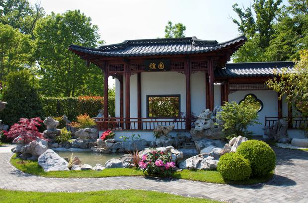 The Chinese Yi Garden that is to be installed at Herbert Park.