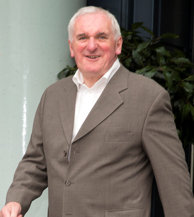 Former Mayor Bertie Ahern twinned the two cities