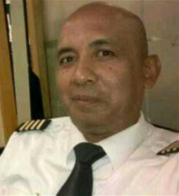 Captain Zaharie Shah is suspected of flying the airliner into the ocean