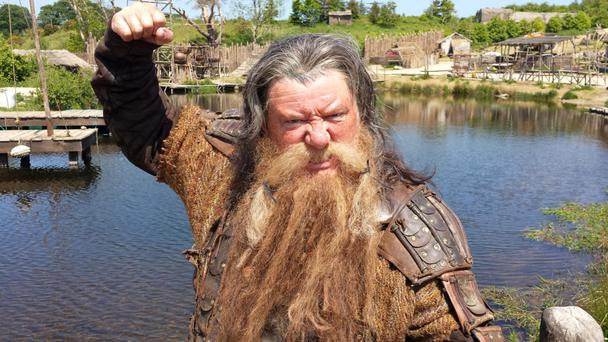 John Creedon as a viking for new RTE series