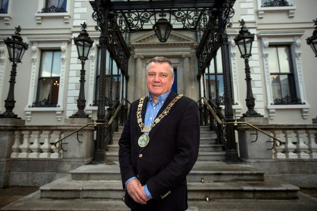 Lord Mayor of Dublin, Brendan Carr.