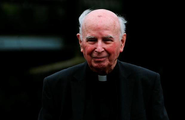 Edward Daly, as the retired Catholic bishop who went to the aid of civil rights protesters gunned down by British soldiers during Bloody Sunday in Northern Ireland has died, the Catholic Church said.