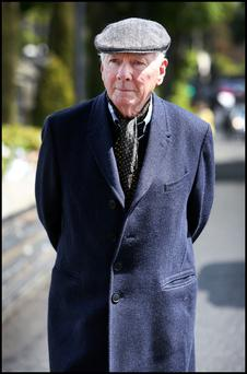 Reflective: Gay Byrne has transferred to more tranquil broadcasting pastures these days. Picture Credit: Steve Humphreys Irish Independent