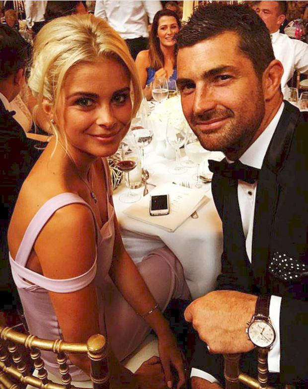 Rob Kearney and his date Jess Redden