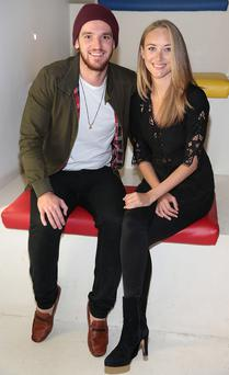 'Red Rock' cast members Adam Weafer and Pandora McCormick pictured today at The Lighthouse Cinema in Smithfield for a special media preview screening of Red Rock Season 3, which returns this September on TV3.