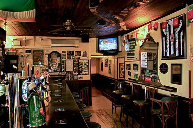 The Finnegan Irish pub in Rome