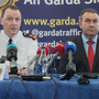 Supt Paul Murray and Det Supt Tony Howard address the media at Garda headquarters. Photo: Gareth Chaney/Collins