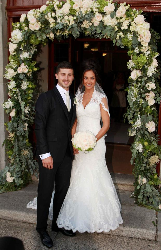 Shane Long with Kayleah. Photo: Collins Photos