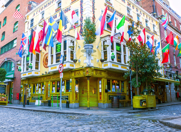 Temple Bar got the top marks in the survey
