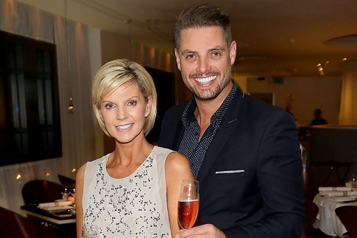 Keith Duffy his wife Lisa