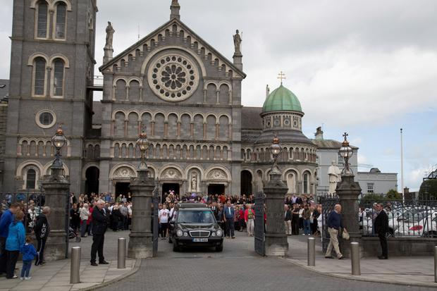 The Funeral of Nicola Kenny at The Cathederal of The Assumption, Thurles today.