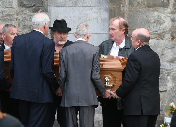 Funeral of Donna Fox