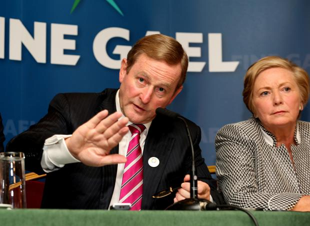 Taoiseach and Party leader Enda Kenny