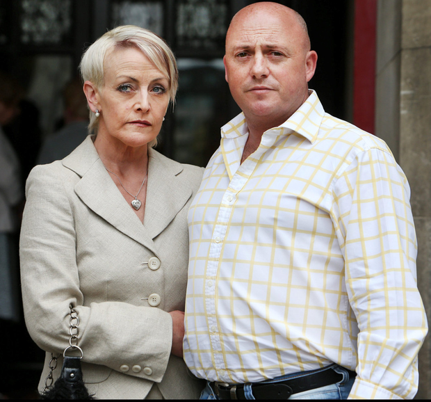 Dave Mahon and wife Audrey