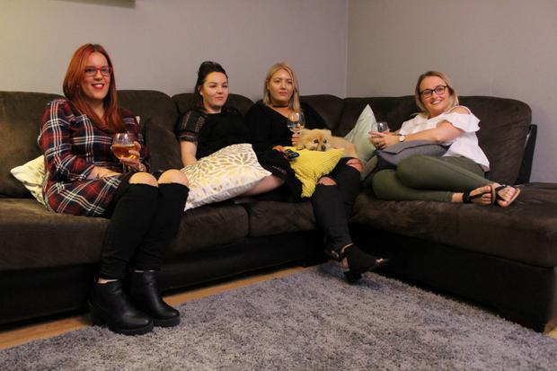 Cabra Girls Jamie, Lindsay, Ashley and Grainne are reality TV addicts