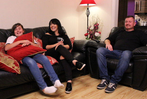 Des and Laura Grufferty, from Athy, Co Kildare, and daughter Danielle will be giving their opinions on Gogglebox Ireland