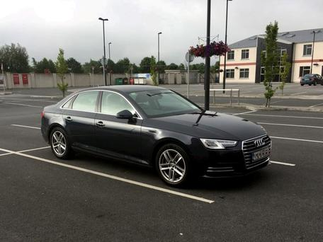 The Audi which was recovered