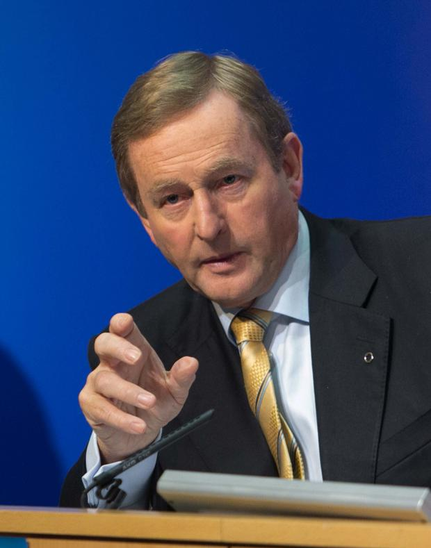 Enda Kenny Picture: Collins Dublin