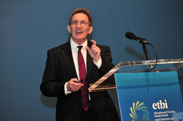 Prof Niall Moyna Picture: Maura Hickey