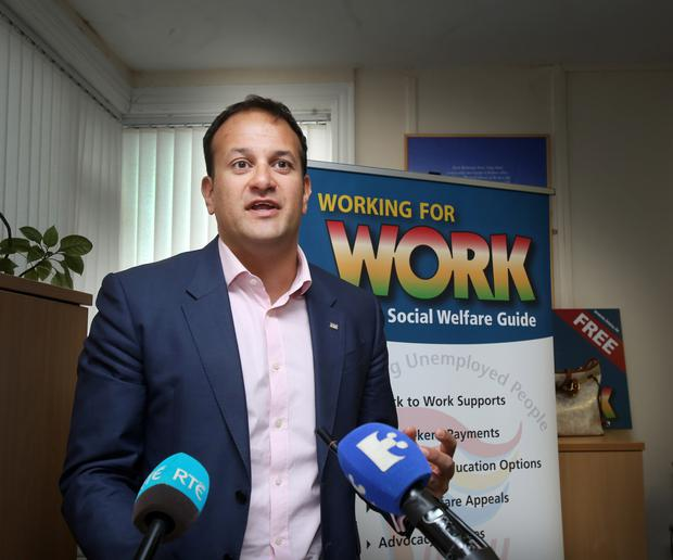 Leo Varadkar has previously said he would like to be leader of Fine Gael Picture: Tom Burke