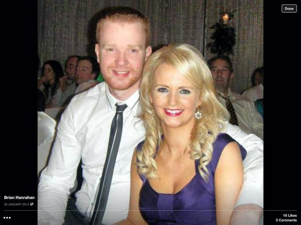 Brian Hanrahan and his wife
