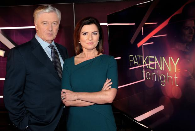 Colette Fitzpatrick and Pat Kenny.
